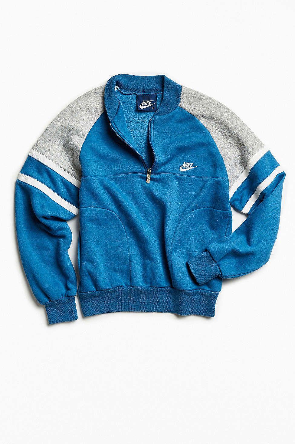 f7bf14472832 Vintage Nike 1 4-Zip Sweatshirt