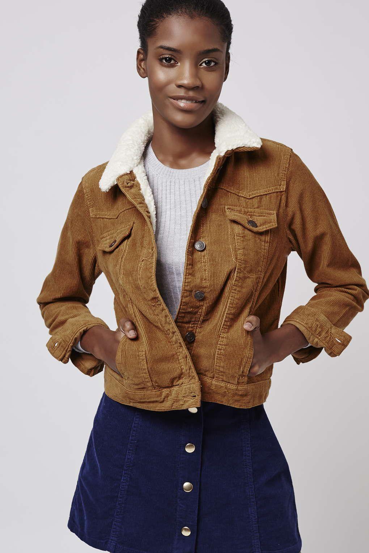 PETITE Cord Borg Western Jacket - January Wardrobe Refresh - We ...