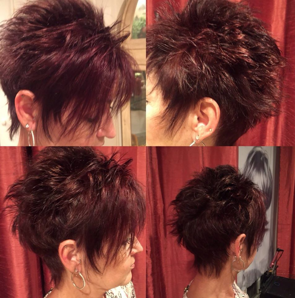 Color and cut by teresaownermaster stylist texas tanglers salon