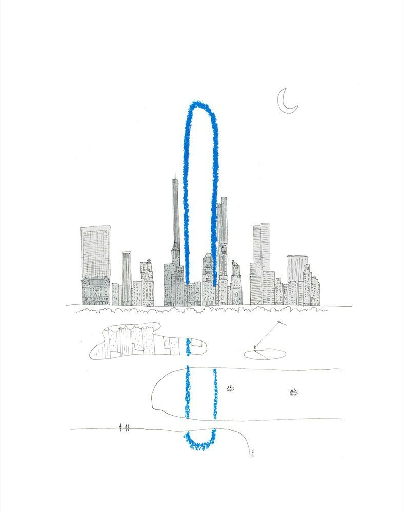 """nice 'Long' is the New 'Tall'? Oiio Reveals Proposal for the World's """"Longest Building"""" in New York Check more at http://www.arch2o.com/long-new-tall-oiio-reveals-proposal-worlds-longest-building-new-york/"""