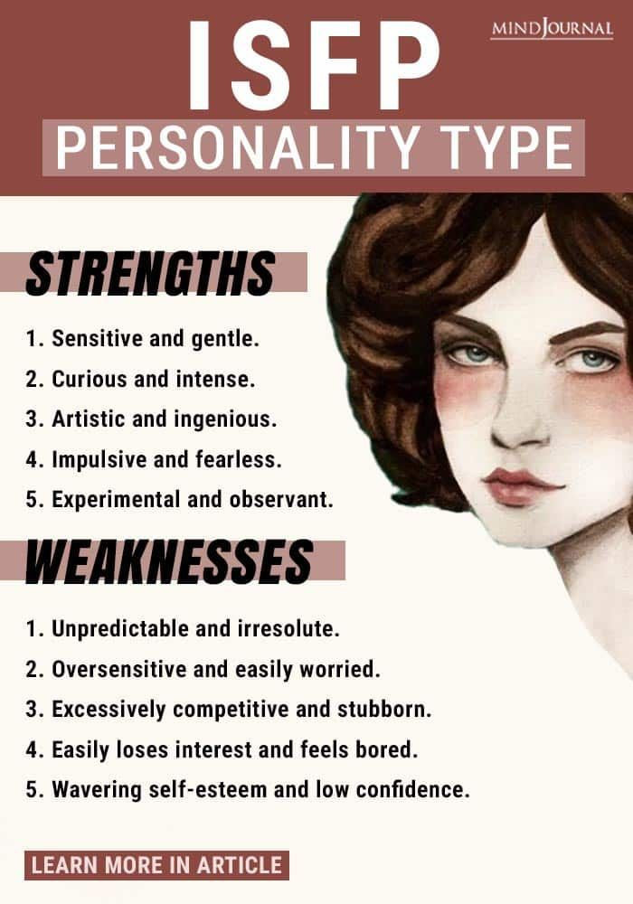 10 Signs That Show You Have The ISFP Personality T