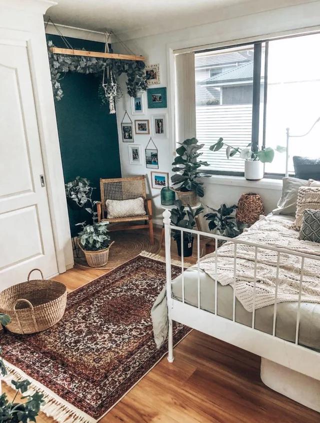 Love this guest bedroom. : HomeDecorating | Boho bedroom ...