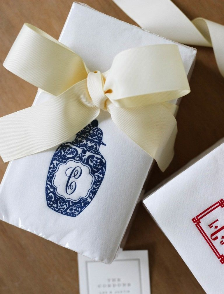 Love These Chinosiere Monogrammed Paper Guest Towels Idee