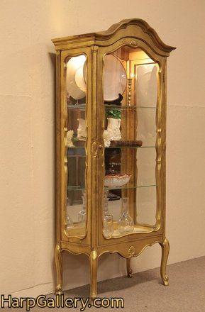 curio cabinet consoles antique silver finish curio cabinet sold gold curio cabinet or