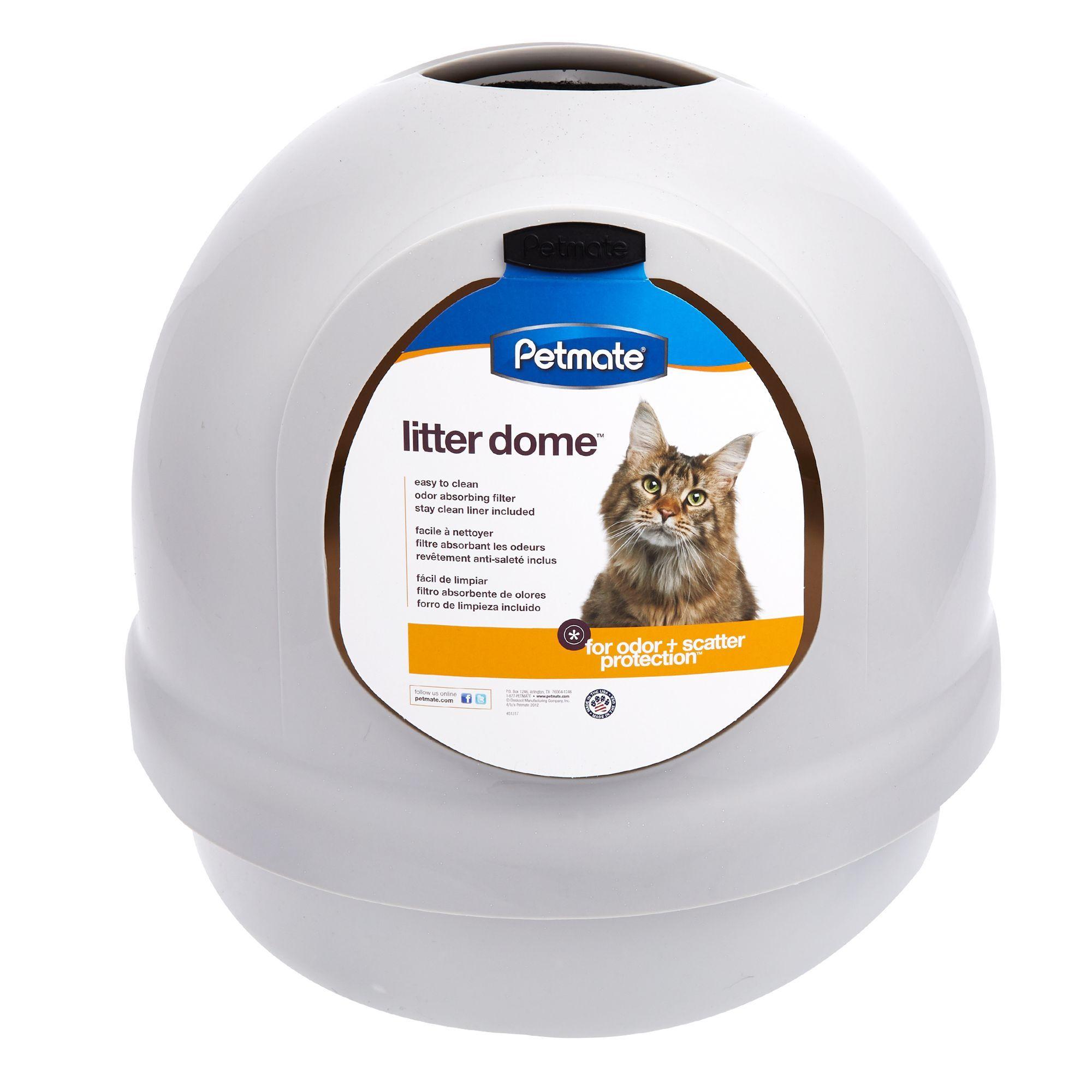 Petmate Booda Dome Litter Box In 2020 Pet Mat Litter Box Litter