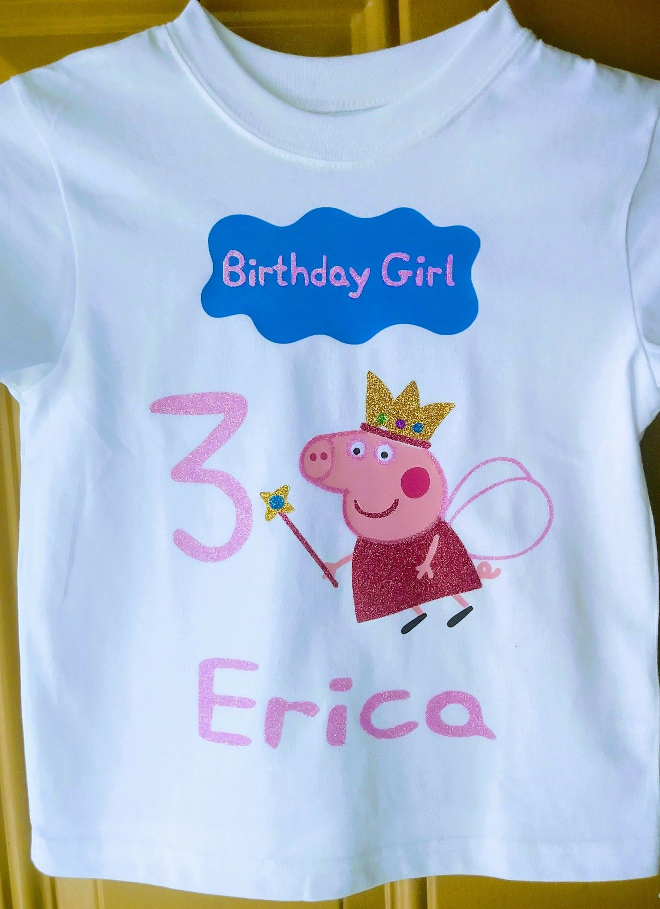 c8d5a43cd Peppa Pig shirt i made for a sweet little girl | My designs | Peppa ...