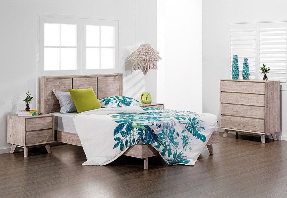 Portland 4 Piece Queen Bedroom Suite | Super Amart | My dream Super ...