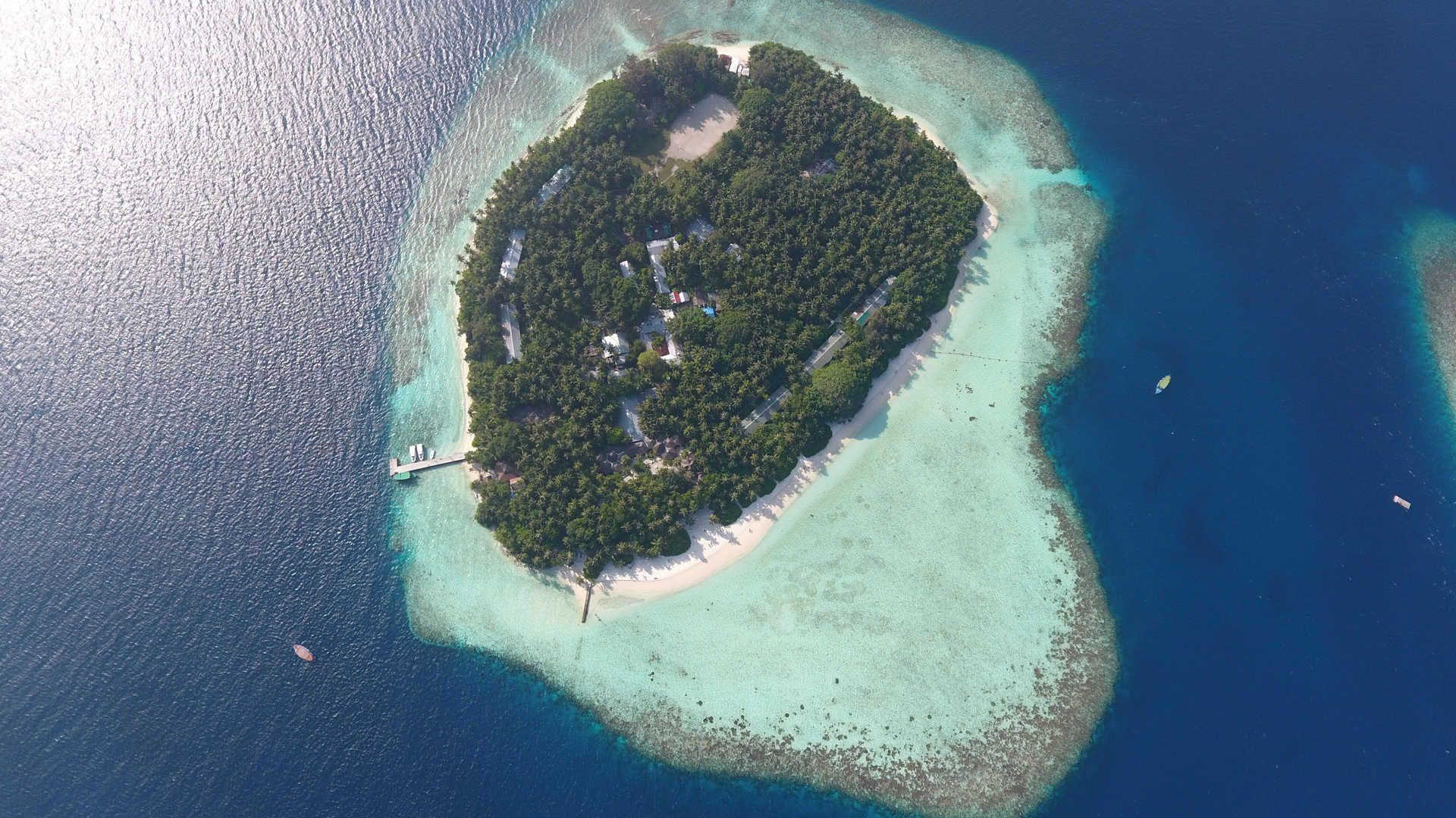 Biyadhoo Island Exterior In The Maldives Luxury Uk Travel
