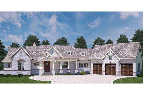 Craftsman House Plan 4195