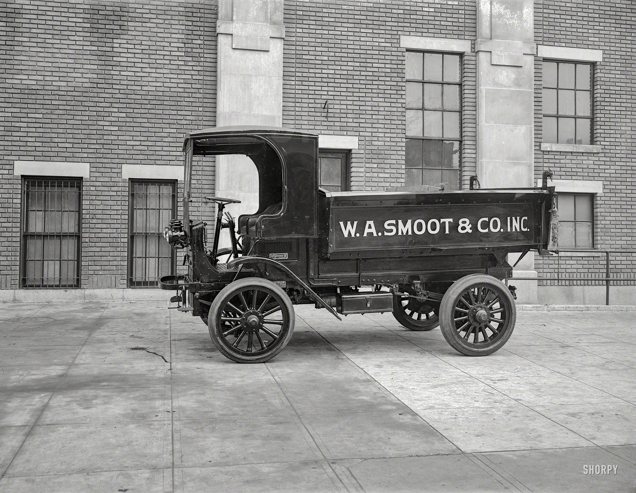Shorpy Historic Picture Archive Smoot Hauler 1920 high