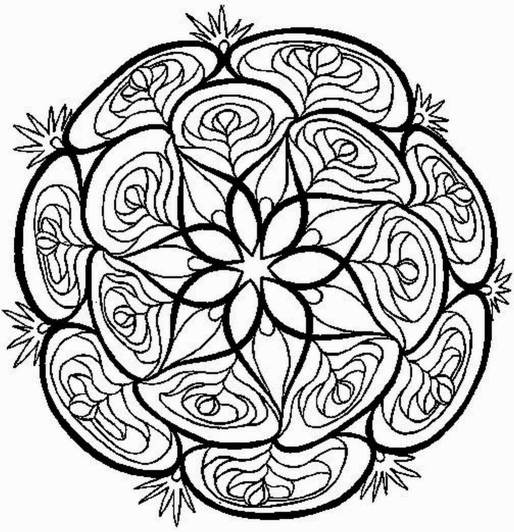 Mandalas Para Pintar | platos mandala | Pinterest | Mandalas, Pintar ...