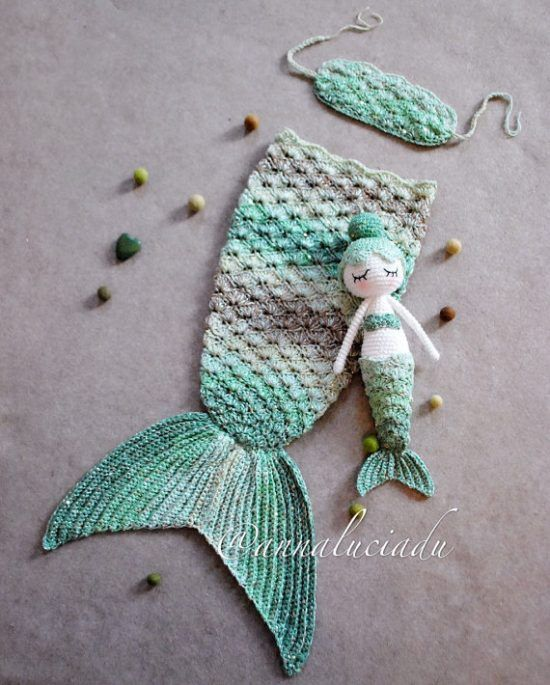 9 Super Sweet Crochet Baby Mermaid Tail Patterns Everyone Will Adore