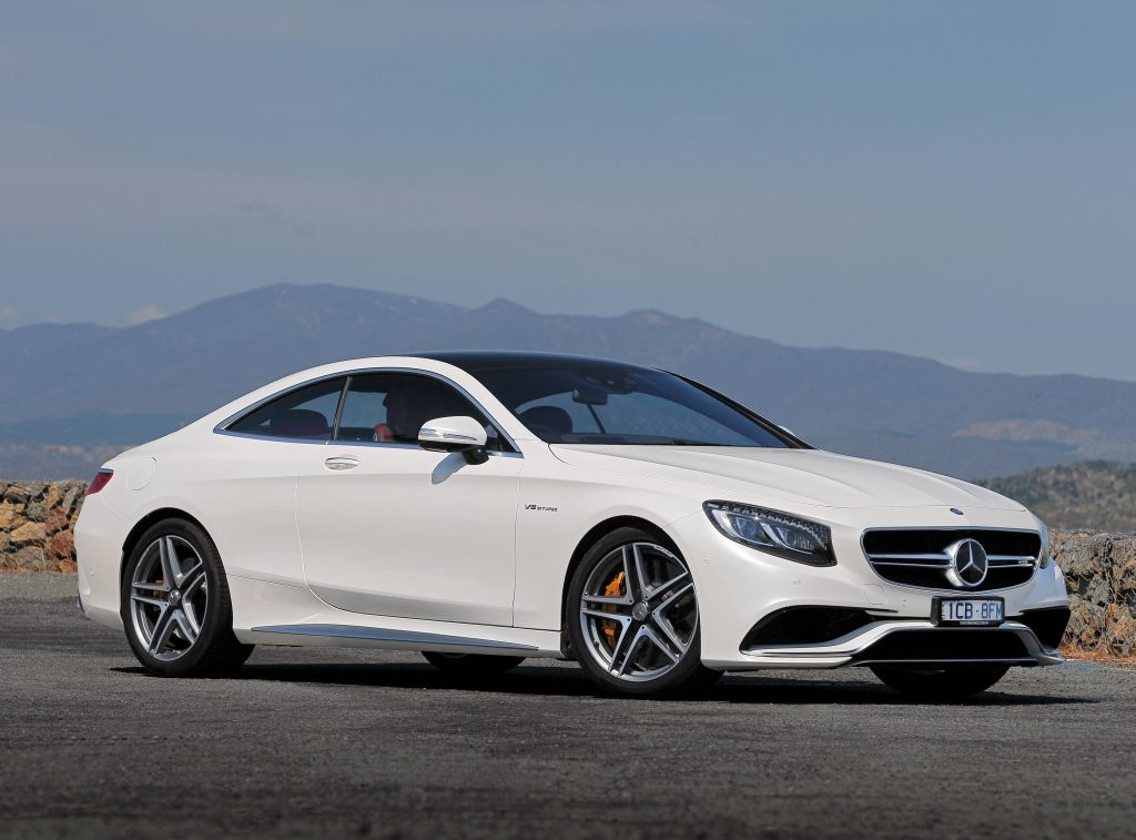 White Mercedes Benz S 63 Amg Coupe Benz S Class Mercedes S