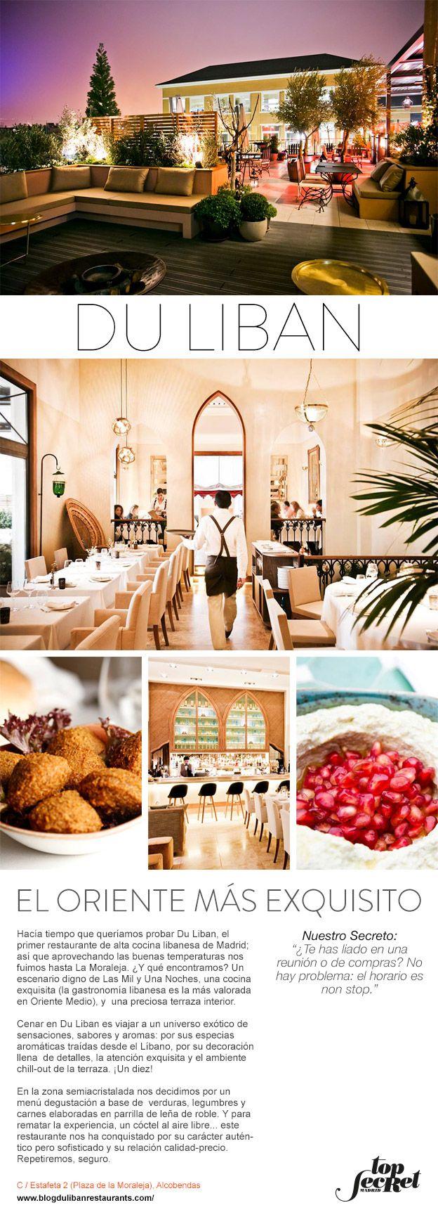 Du Liban El Oriente Más Exquisito Terrazas Interiores Restaurantes Exquisito
