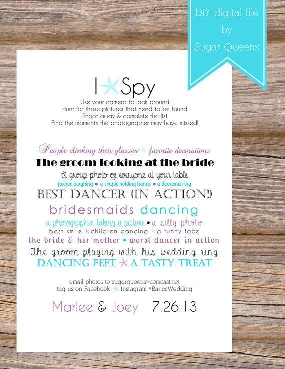 starfish i spy wedding cards use coupon code pinterest15 at