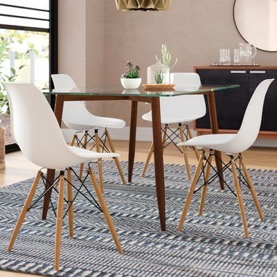 Langley Street Harrison Dining Chair Colour White In 2020