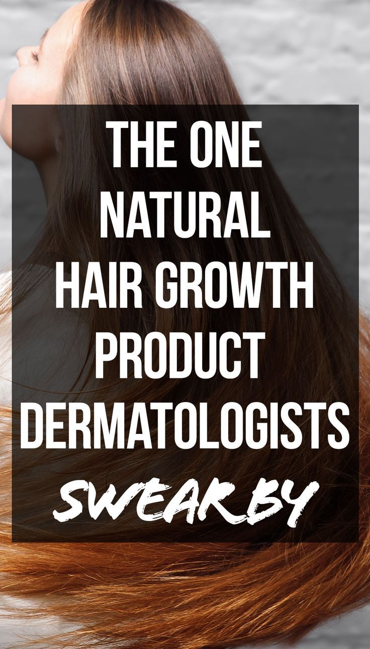 The One Natural Hair Growth Product Dermatologists Swear By | SHEfinds #naturalhaircareproducts
