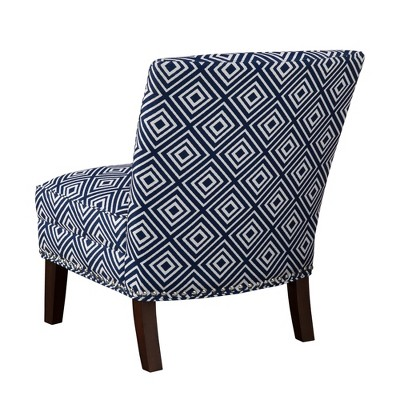 Karly Slipper Accent Chair Navy Accent Chairs Chair