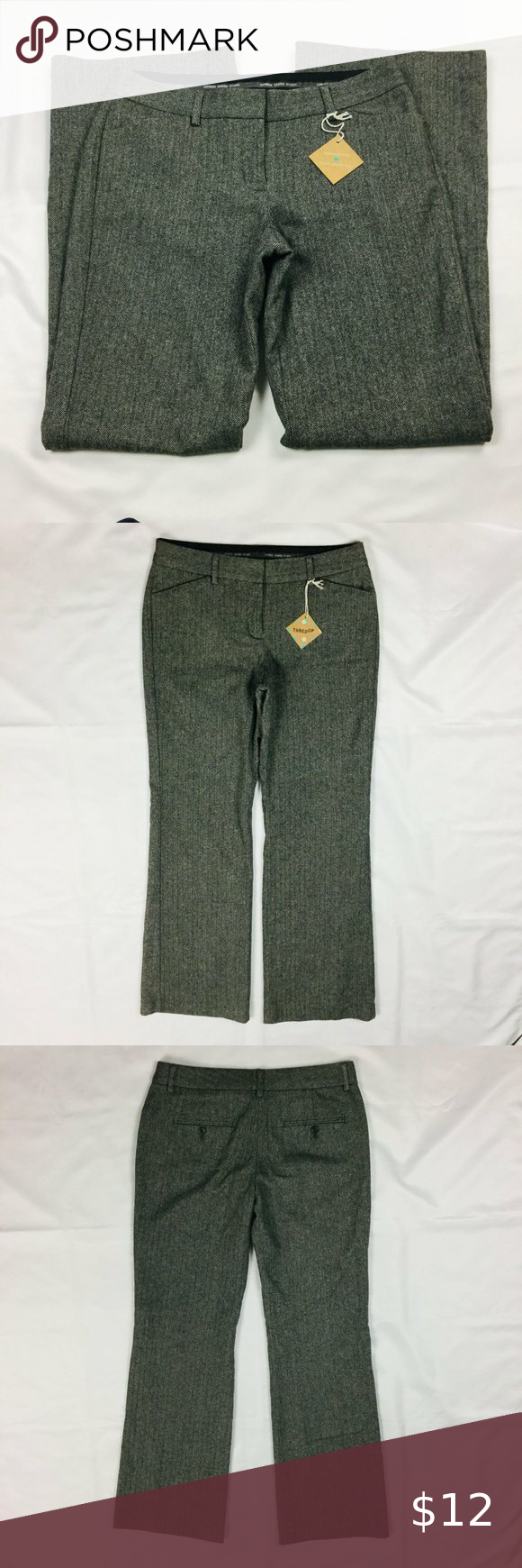 Express Editor Mid Rise Wool Blend Lined Pants In 2020 Clothes Design Pants Wool Blend