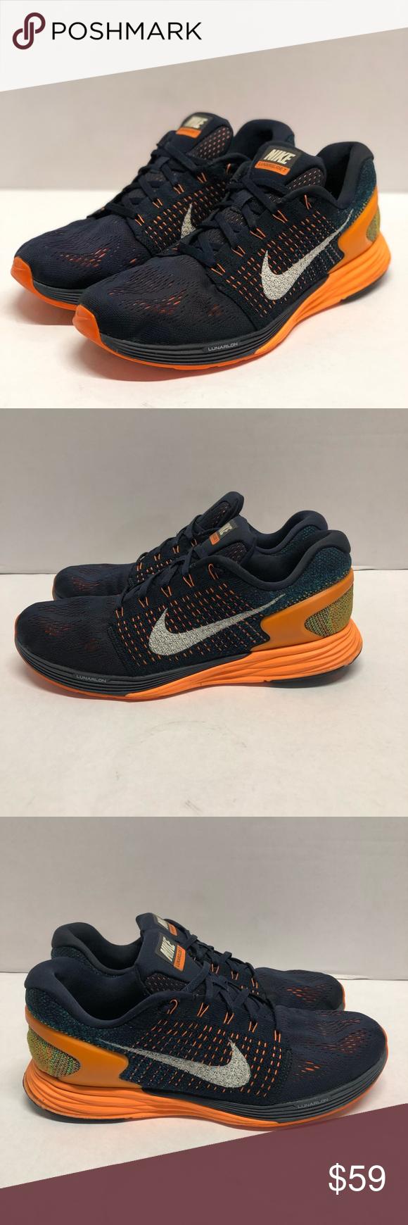 buy online a7037 e52a6 Nike Lunarglide 7 Running Shoes sz 10.5 lunarlon Men's sz ...