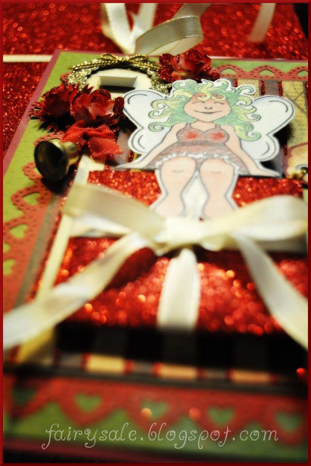 fairysale-Motivstempel: Frohes Fest 2012