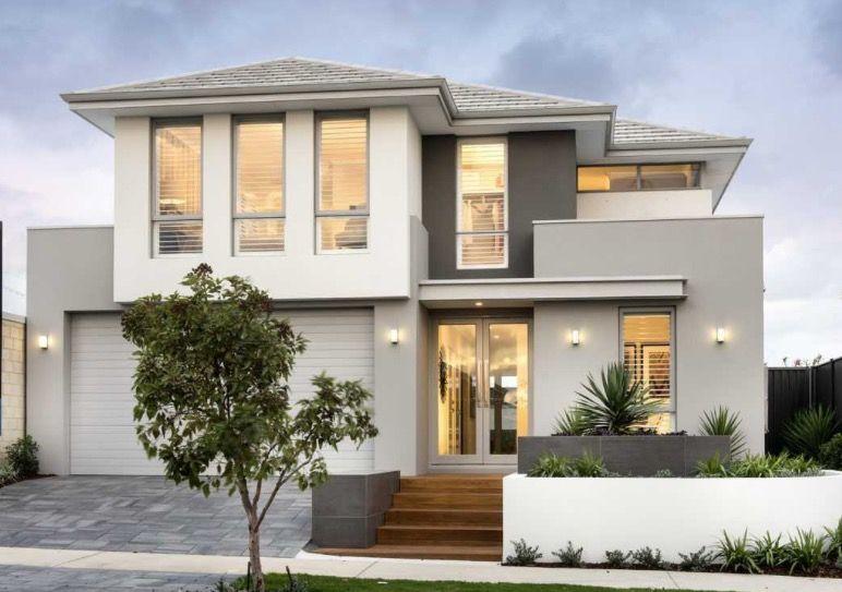 House Frontage Design Facade House 2 Storey House Design Double Storey House