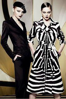 zebra print Dior trench coat