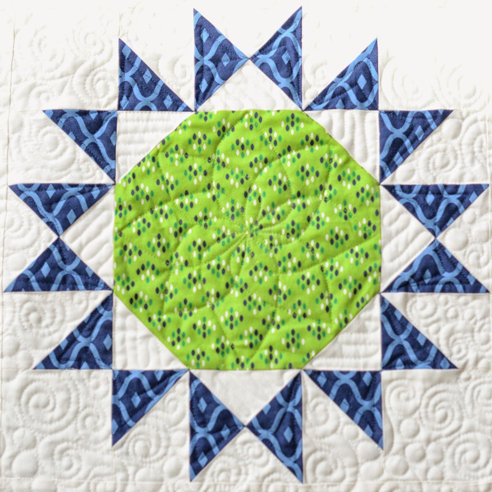Ovarian cancer quilt pattern, Papilloma virus vaccino 9 valente