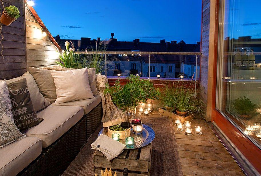 Icono Interiorismo 5 Ideas Para Decorar Una Pequeña Terraza