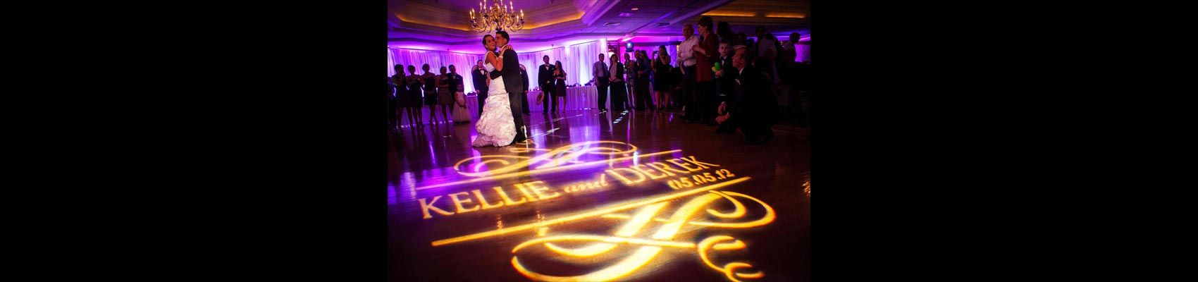 Buckeye Sounds Is The Columbus Wedding Dj That Does Things A Bit Different From Most Other Djs That You W Wedding Dj Uplighting Wedding Custom Wedding Monogram