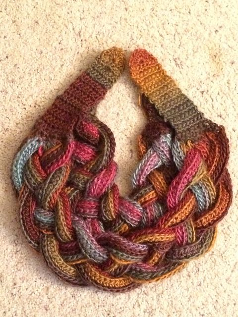 Ravelry: Double Layered Braided Cowl pattern by CrochetDreamz ...