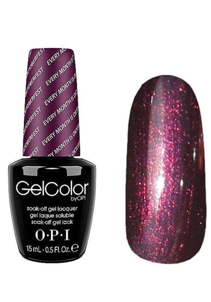 OPI Gelcolor -Gel Colour - EVERY MONTH IS OKTOBERFEST - 15ml [Misc ...