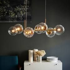 Image result for 8 orb glass pendant