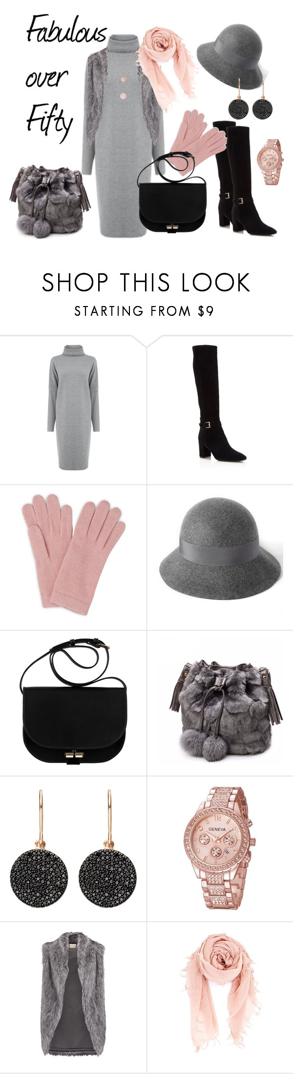 """""""Fabulous Over Fifty"""" by marionduffield ❤ liked on Polyvore featuring Warehouse, Kate Spade, L.K.Bennett, Astley Clarke, DKNY, Chan Luu and Michael Kors"""