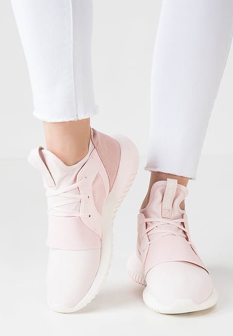 detailed look 7a1a3 cc33b adidas Originals TUBULAR DEFIANT - Trainers - halo pinkchalk white for  £72.00 (171216) with free delivery at Zalando