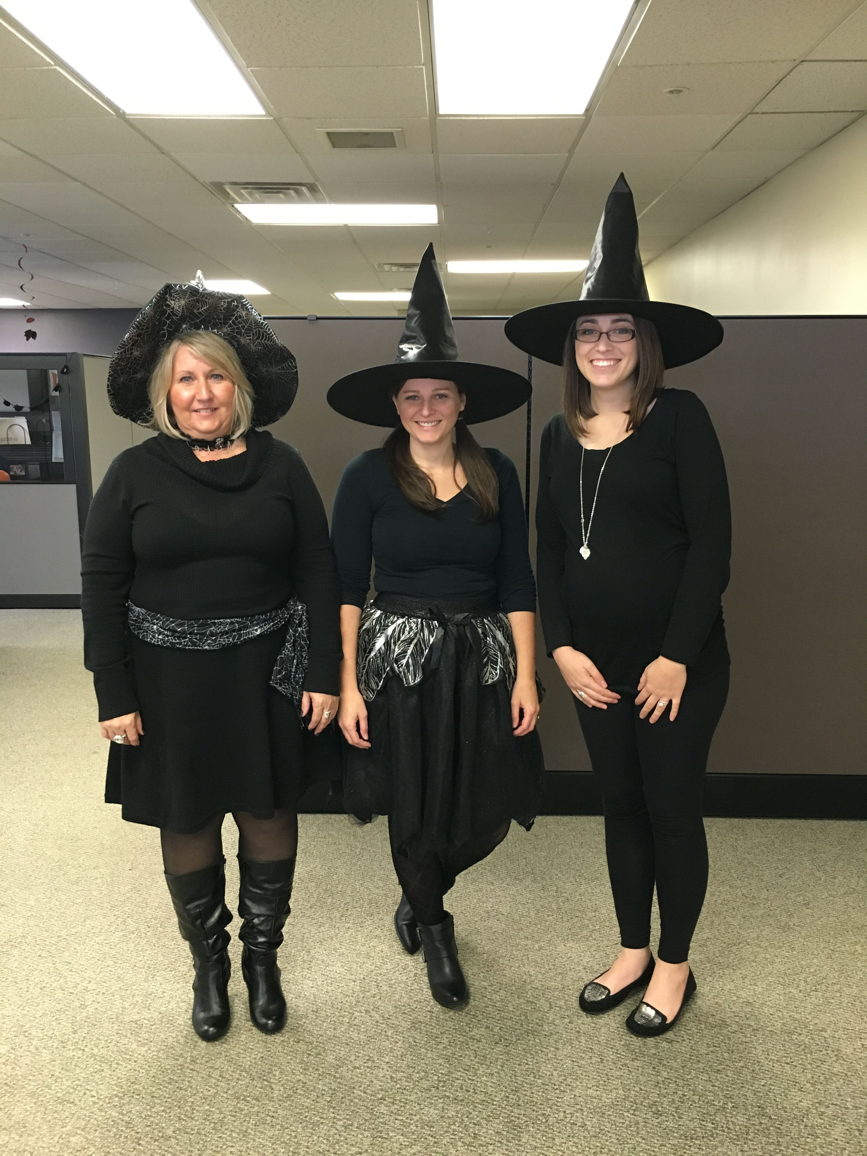 Creative Halloween Costume For The Office - Witch