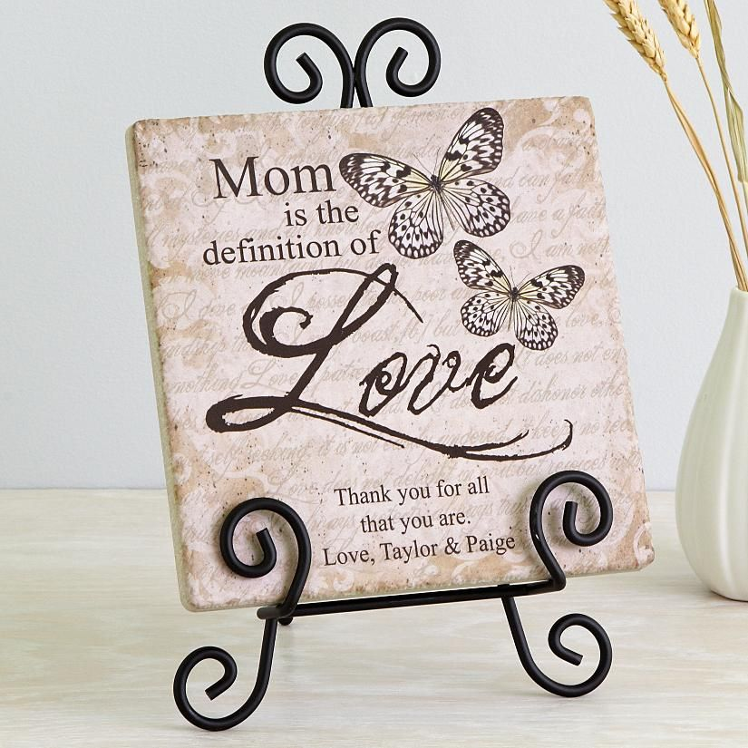 Definition Of Love Tile With Easel Diy Crafts For Gifts