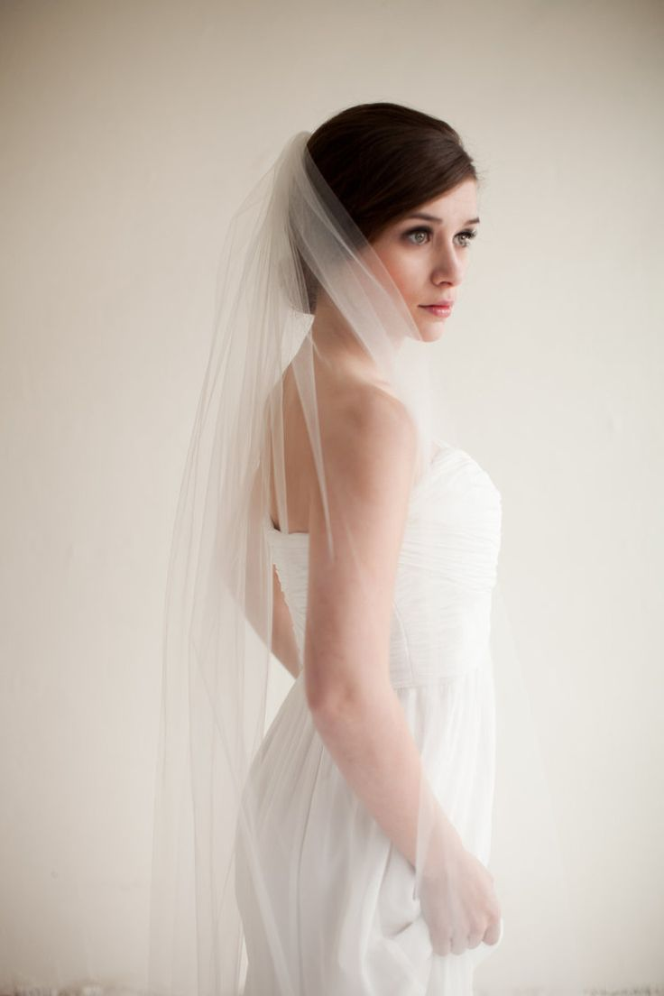 Ballet waltz length wedding veil ballet waltz length wedding