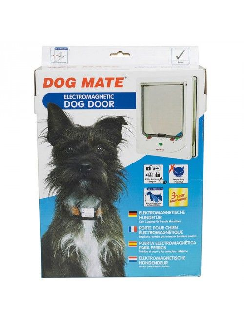 Dog Mate Electromagnetic Dog Door Gadgets Dogs Gadgets For