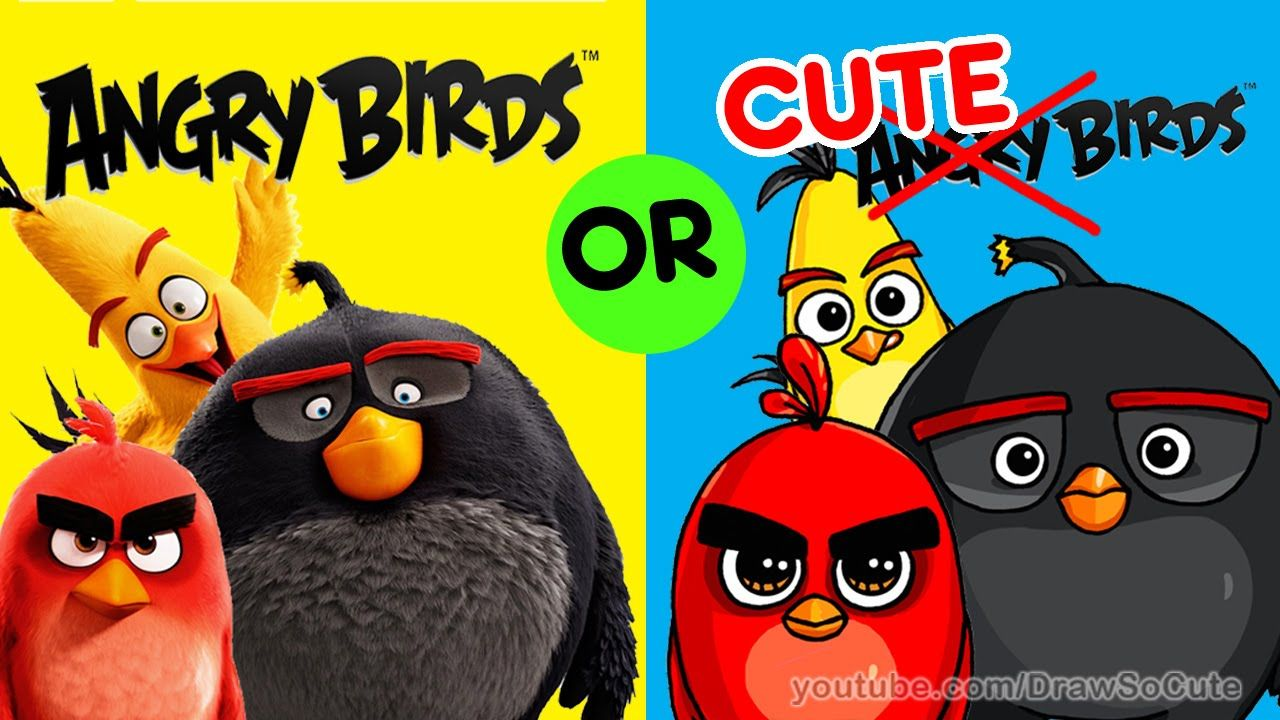 Drawing Angry Birds Movie: How To Draw ANGRY BIRDS Movie