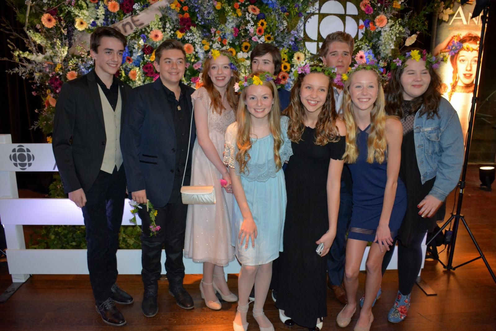 The Young Cast From Anne With An E Anne Shirley Anne Of Green Gables Anne