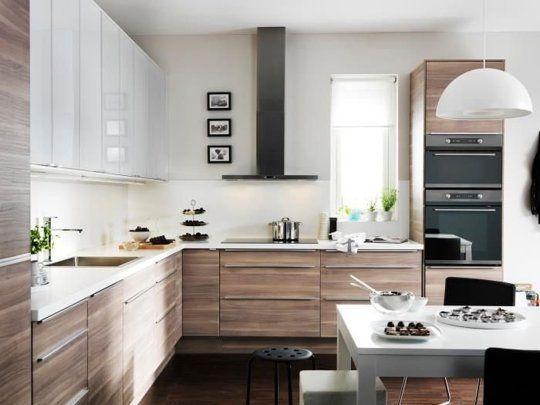 Look We Love Contrast In The Kitchen Modele Cuisine Ikea