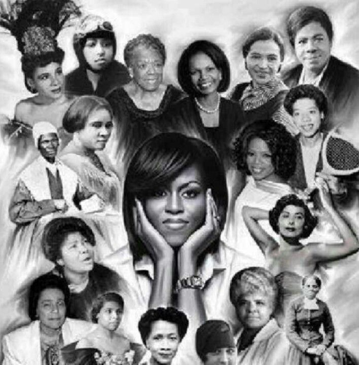 Beautifulness...a view of great African-American women