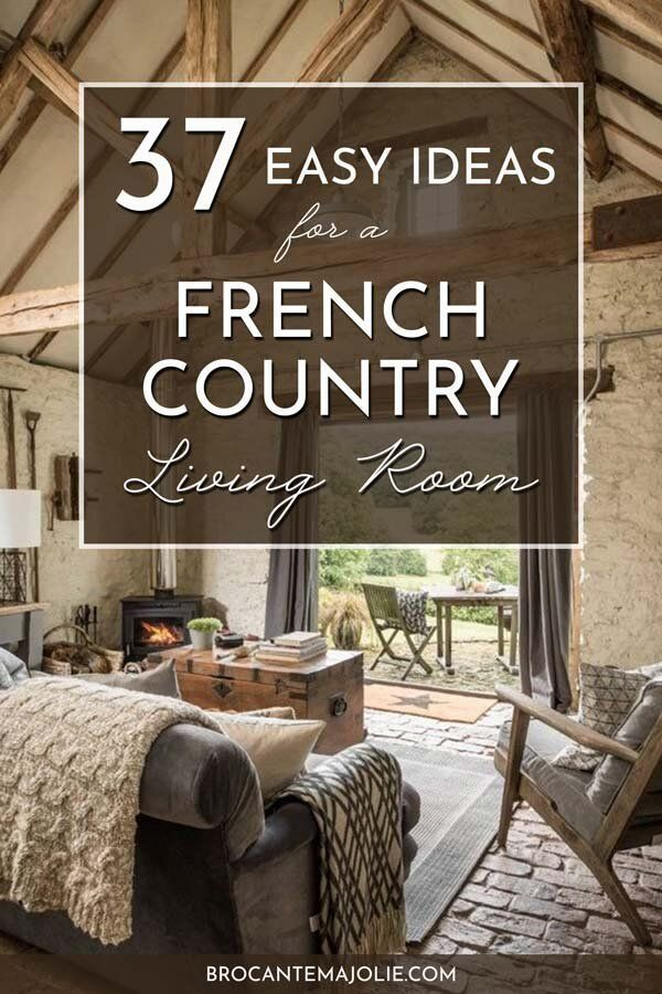 Photo of 37 terrific ideas to get an authentic french country living room — Brocante Ma Jolie