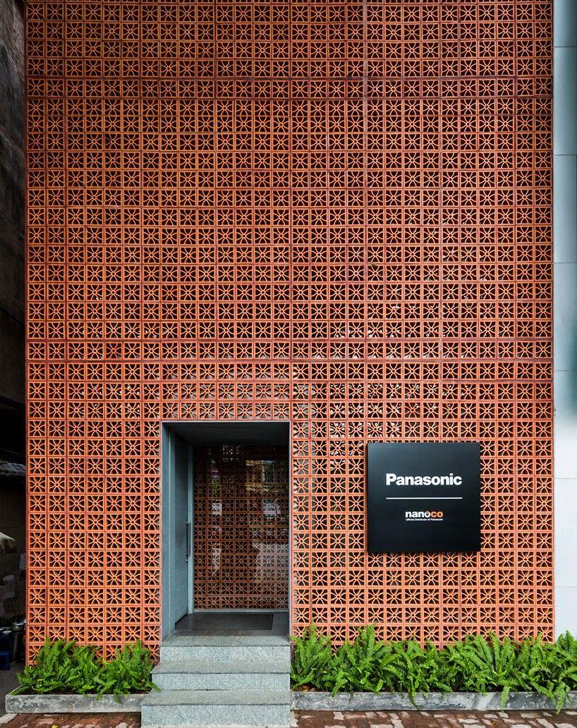 Vo Trong Nghia Stacks Terracotta Brick Fa 231 Ade For