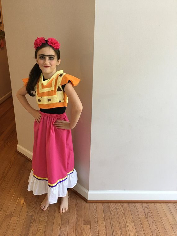 c8992b18134e2 HALLOWEEN Rush Frida Kahlo Halloween Costume from Coco for infant ...