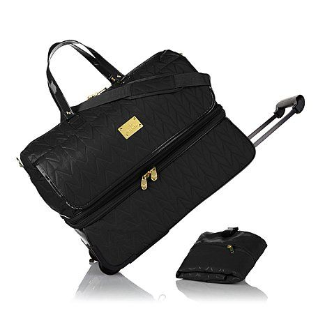 JOY TravelEase Quilted Luxe Double Decker Duffle