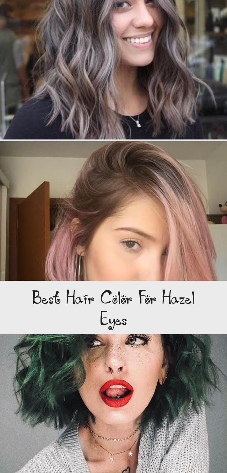 Best Hair Color For Hazel Eyes Hairstyles In 2020 Cool Hair Color Cool Hairstyles Pink Hair Dye