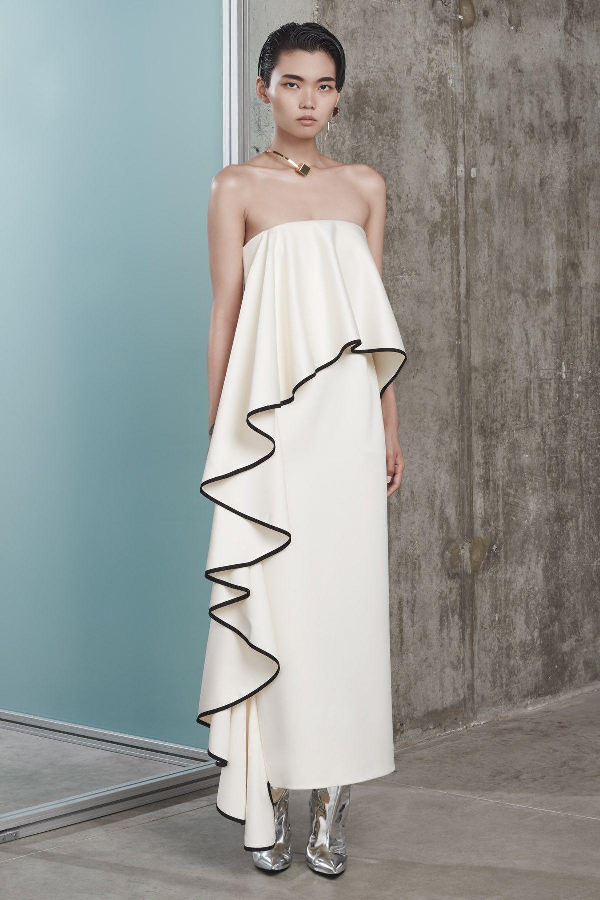 Solace London   Frances Dress Cream   вечерние и нарядные ...