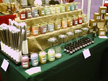 how to set up candle craft displays candle making craftgossipcom